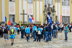 World Youth Day 2016 in Trzebnica Royalty Free Stock Image