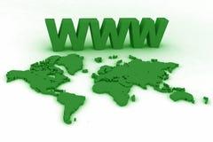 world01万维网 库存图片