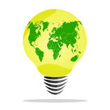 worldbulb Obraz Stock