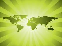 Worldmap Fotografia Stock