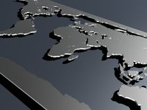 Worldmap Royalty Free Stock Images