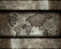 Worldmap Stock Photo