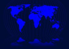 Worldmap Images libres de droits