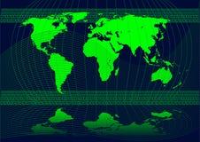 Worldmap Stock Image