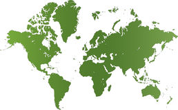 Worldmap Stock Image