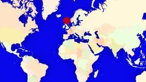 Worldmap zuma in Svizzera royalty illustrazione gratis