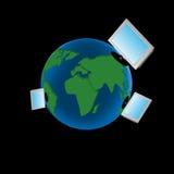 Worldnet das Internet Stockbild