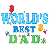 Worlds Best Dad Royalty Free Stock Images