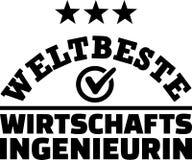 Worlds best female industrial engineer german Stock Photos