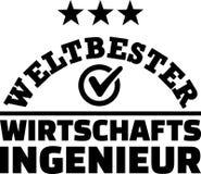 Worlds best male industrial engineer german Stock Photo