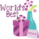 Worlds Best Mom Royalty Free Stock Images
