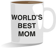 Worlds Best Mom Stock Image