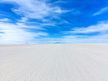 Worlds biggest salt plain Salar de Uyuni Royalty Free Stock Photography