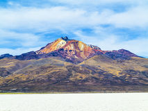 Worlds biggest salt plain Salar de Uyuni, Bolivia Royalty Free Stock Photography