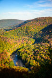 Worlds End State Park. Autumn stock image