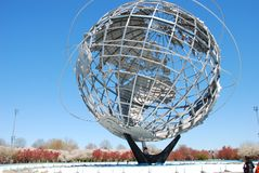 The Worlds Fair Globe in NYC Royalty Free Stock Photo