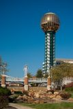 Worlds Fair park Royalty Free Stock Photography