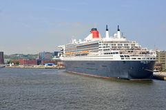 Worlds famous ocean liner Queen Mary 2 royalty free stock image