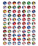 Worlds flag Stock Photos
