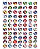 Worlds flag Stock Photos