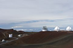 Worlds largest observatories Royalty Free Stock Images