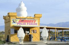 Worlds Tallest Ice Cream Stand in Pahump, Nevada, USA Stock Images