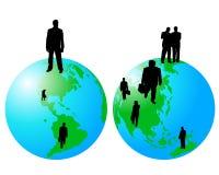Worldwide business Stock Photography