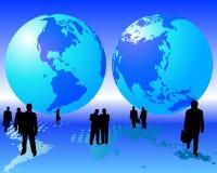 Worldwide business Royalty Free Stock Photo