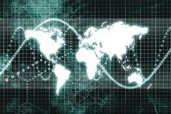 Worldwide Business Communications Royalty Free Stock Photography