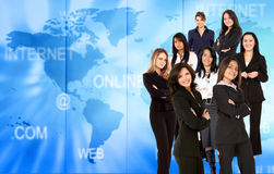 Worldwide Business women Royalty Free Stock Photo