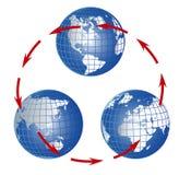Worldwide communication Royalty Free Stock Photos