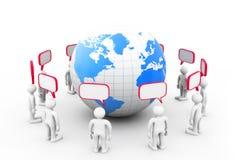 Worldwide communication Royalty Free Stock Photography
