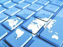 Worldwide communications Stock Photos
