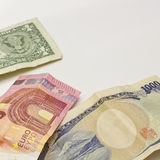 Worldwide currency Royalty Free Stock Image