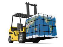 Worldwide delivery Royalty Free Stock Photo