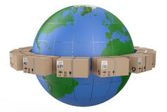 Worldwide delivery concept Royalty Free Stock Photo