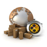 Worldwide Express deliveries Stock Photo