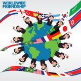 Worldwide Friendship Conceptual. Stock Photos