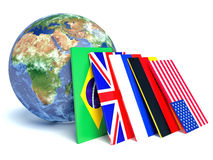 Worldwide international communication concept Royalty Free Stock Images