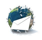 Worldwide mailing Royalty Free Stock Photography