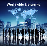 Worldwide Networks Global International Unity Concept Stock Image