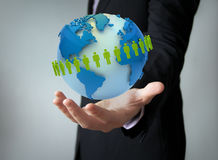 Worldwide people concept Royalty Free Stock Photos