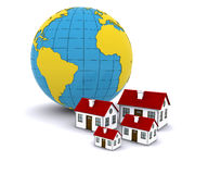 Worldwide Properties Stock Photo