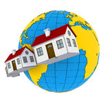 Worldwide Properties Stock Image