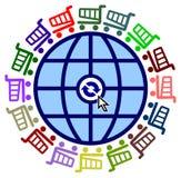 Worldwide Shopping Spree Royalty Free Stock Photo