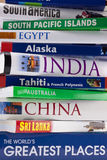 Worldwide Travel Guides - Travel Books Royalty Free Stock Photo