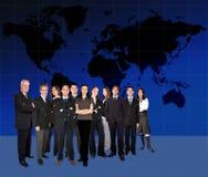 Worlwide da equipe do negócio Imagem de Stock