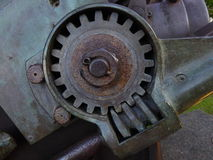 Metal worm drive Royalty Free Stock Image