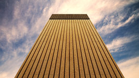 Worm Eye View of Brown Wall Climbing during Daytime Stock Photo