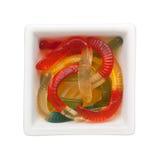 Worm kleverig suikergoed Royalty-vrije Stock Afbeelding